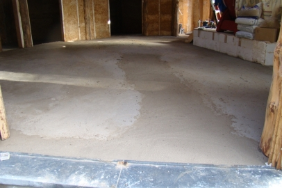 DSC04963 - 2017-11-06, Screed done!