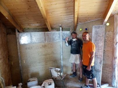 f07 - ROBUR - opbouw slaapkamermuur
