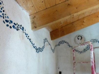 f104 - pleisterwerk + mozaïekjes